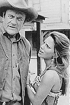 Gretchen Corbett with James Arness